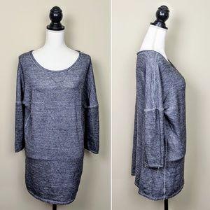 ZARA Sweater Dress, Gray Long Sleeve Cozy, M